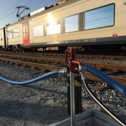 Anyflow en 1 pouce a la gare de Gand en Belgique