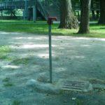Fermeture automatique dans un parc a Brive