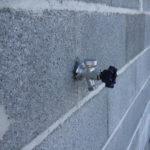 Photo 2 robinet mural avant crepi maison neuve