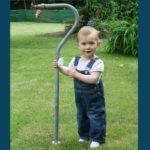 Robinet amovible avec enfants 2 ans