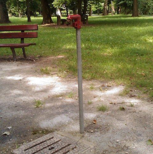 fermerture automatique dans un parc